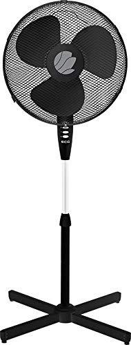 ECG FS 40a Ventilateur sur pied Noir