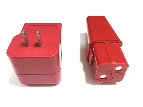 Replacement Batter and Charger for All Swivel Sweepers (Red)