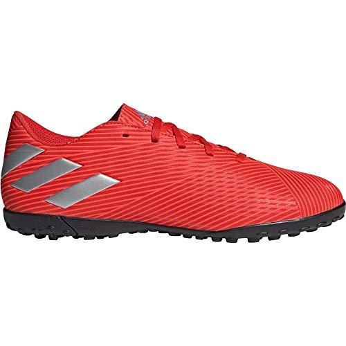 adidas Unisex Nemeziz 19.3 Tf J Fußballschuhe, Rouge Argent Rouge Solaire, 43 1/3 EU