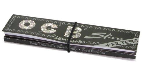 Papier à rouler OCB Connoisseur King Size Slim & Pointes – 4 carnets par Trendz