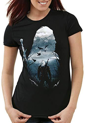 A.N.T. Prévision du Sorceleur T-Shirt Femme temeria Moyen...
