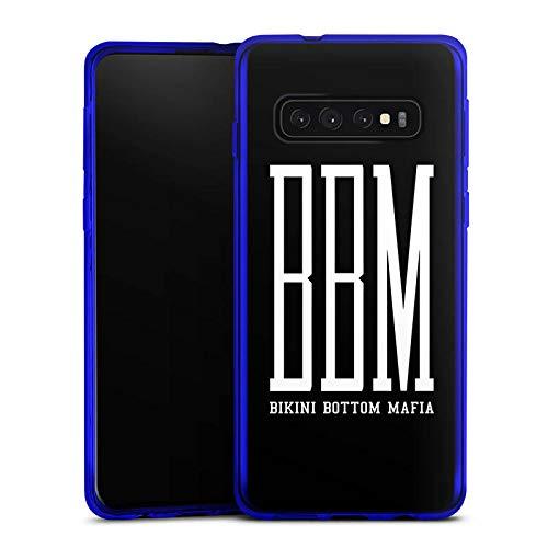 DeinDesign Silikon Hülle kompatibel mit Samsung Galaxy S10 Case Schutzhülle Bbm Bikini Bottom Mafia Spongebozz