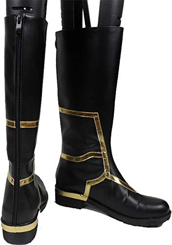 MINGCHUAN Cosplay Boots Shoes for Fate GO FGO Fate Grand Order Caster Merlin Ambrosius