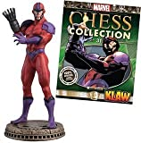 Marvel Chess Collection Part 31 KLAW (Black Pawn)