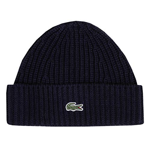 Lacoste Beanie Wolle, Navy