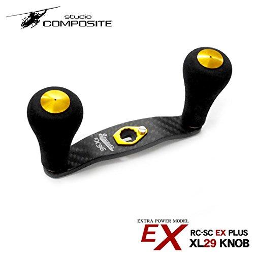 スタジオコンポジット RC-SC EXプラス 96mm EVAノブコンプリート XL29ノブ studio composite レッド ...