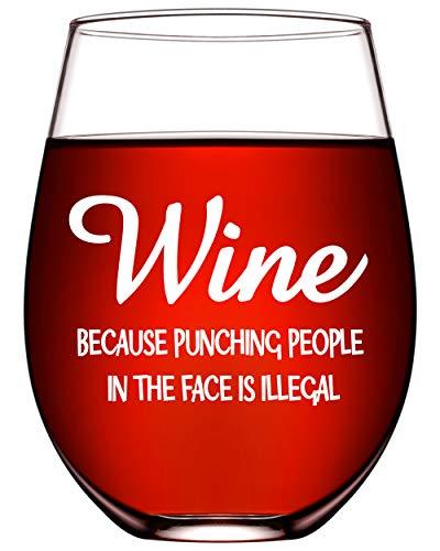 Funny Wine Glasses for Women