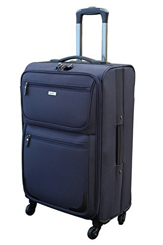 [ビータス] スーツケース ソフト 機内持ち込み可 BSC-20 保証付 57L 70 cm 4.8kg ネイビー