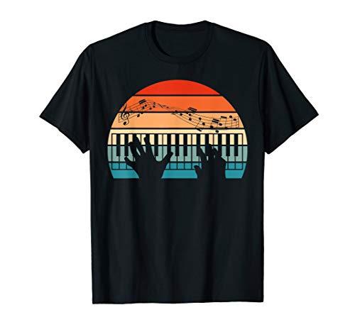 Keyboard Klaviermusik Dynamik Theorie Musiker Klavier T-Shirt