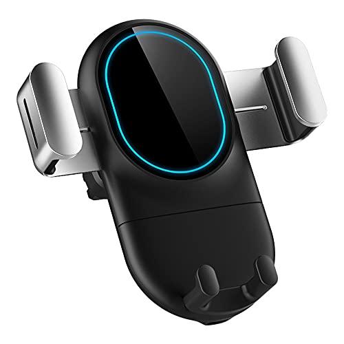 N\A Hazikai 1X Qi - Cargador inalámbrico Coche [Nueva versión Gravity Linkage] -Soporte de teléfono inalámbrico para Coche (10 W/7,5 W) Soporte de Carga rápida,Tecnología de Carga Magnética