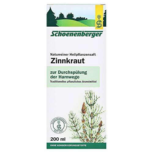 Naturreiner Heilpflanzensaft Zinnkraut (200 ml)
