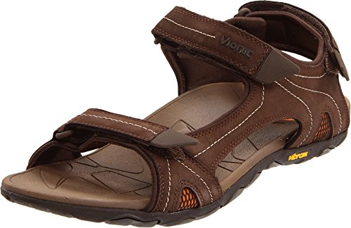 Vionic Boyes - Men's Orthaheel Heel Strap Chocolate - 7