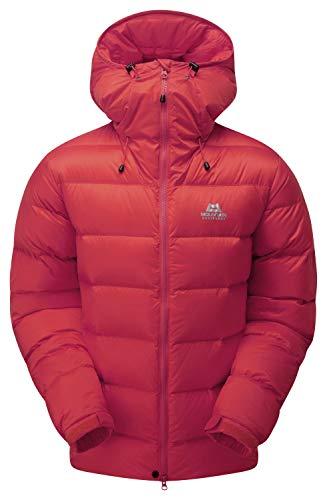 Mountain Equipment M Vega Jacket Rot, Herren Daunen Freizeitjacke, Größe XL - Farbe Barbados Red