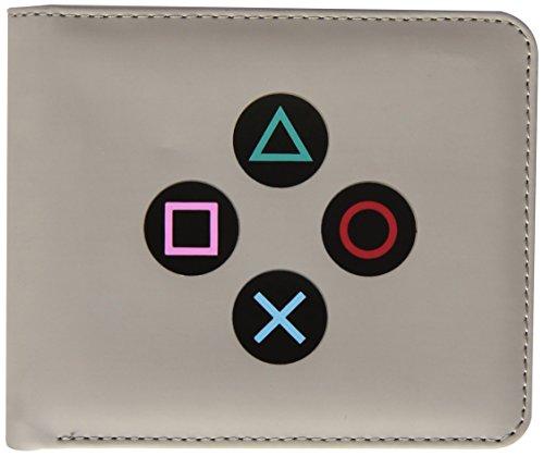 numskull Playstation 1 Geldbörse - im PS1 Controller Design - grau (Portemonnaie)