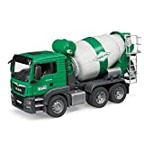bruder 03710 TGS Betonmisch-LKW, Fahrzeug, bunt -
