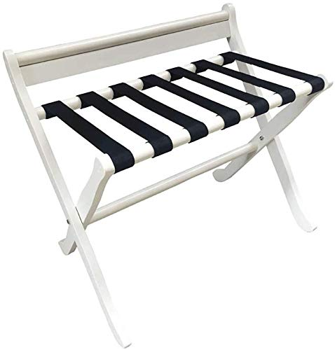 Great Features Of QTQZDD Room Luggage Holder, Hotel Solid Wood Folding Luggage Rack, Travel Break Fo...