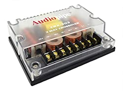 top rated Audio Pipe CRX-303 3-Way Crossover 300W Passive Crossover Car Audio 4 Ohm 2021