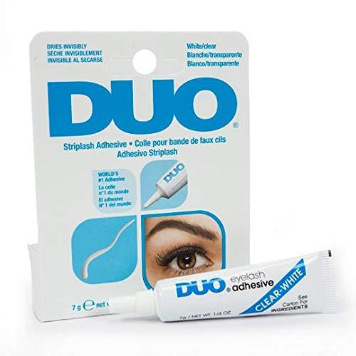 7 ml wasser-resistenter DUO Wimpernkleber, Hautkleber für Bandwimpern und künstliche Augenbrauen, geruchlos, vegan
