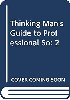 Thinking Man's Guide to Professional So 0525217371 Book Cover