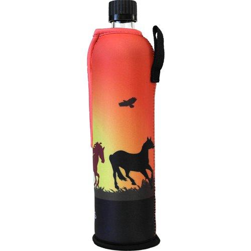 Dora´s Glasflasche mit Neoprenbezug 700 ml