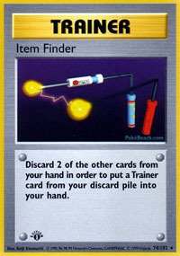 Pokemon - Item Finder (74/102) - Base Set