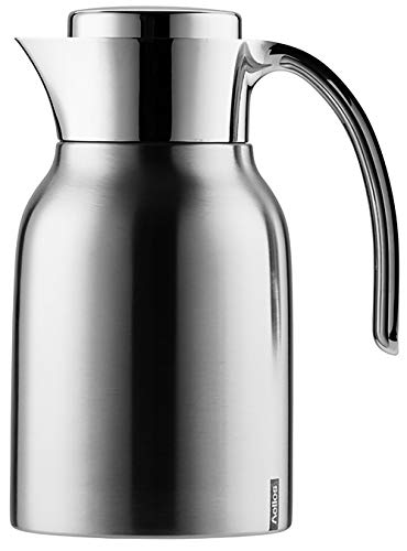 Helios Meeting Edelstahl-Isolierkanne, matt, 1 Liter