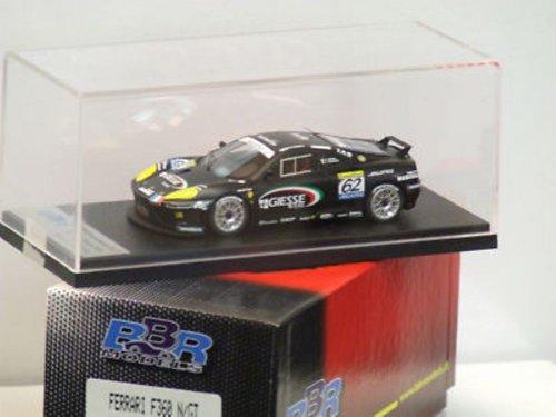 BBR 1/43 Ferrari 360 Modena N/GT Black #62 FIA GT Monza 2001 Team Giesse C. Pescatori/ D. Terrien BG221