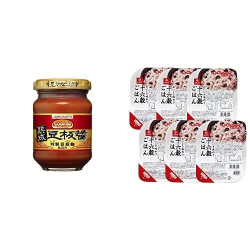 味の素 CookDo 熟成豆板醤 100g×2個 + はくばく おいしさ味わう 十六穀ごはん 無菌パック 6食
