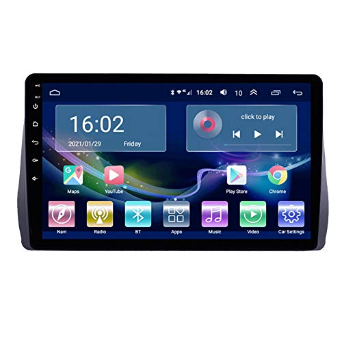 Navigazione GPS Autoradio Android 10.0 per Toy OTA Wish 2009-2012, Autoradio Stereo Supporto DSP GPS 4G WiFi AMP USB Bluetooth 5.0 Carplay