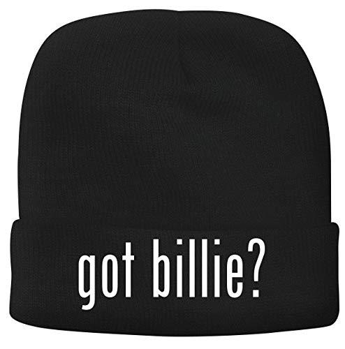 BH Cool Designs got Billie? - Men's Soft & Comfortable Beanie Hat Cap, Black, One Size