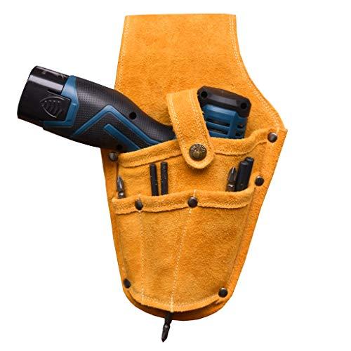 Werkzeugtasche Taillen-Taschen-Werkzeug-Gürteltasche Tasche, Schraubendreher Treiber Bohrhalter, Multi-Funktions-Elektro-Werkzeugkoffer for Schraubenschlüssel, Hammer, Schraubenzieher, geeignet for di