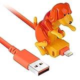 GHMPNLG Cargador de Cable USB, Cable de Carga, Cable de Carga de Perros callejeros, 50% más rápido, cargamento más rápido, Adecuado para Varios Modelos de teléfonos móviles Tipo