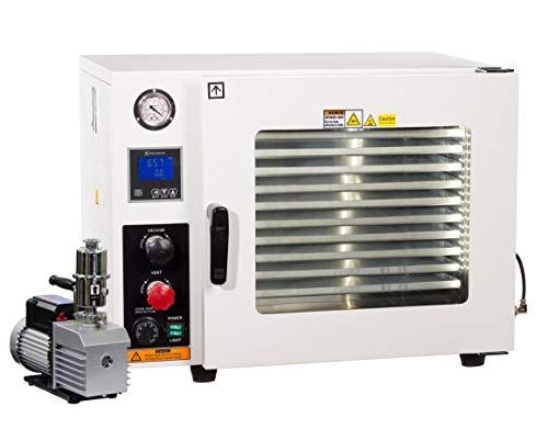 Across International Steel AccuTemp Vacuum Oven With 9 CFM Pump