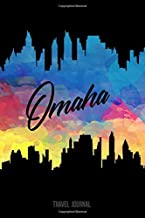 Omaha Travel Journal: Blank Lined Vacation Holiday Notebook