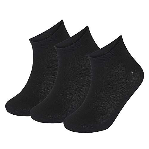 Herren Sportsocken mit niedrigem Schnitt, Schwarz, Weiß, verschiedene Farben, 24 Paar Gr. 40/45 DE, multi