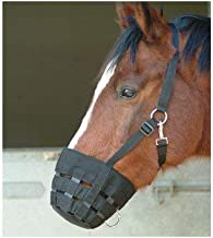 Shires Nylon Grazing Muzzle - Size:Pony Color:Black