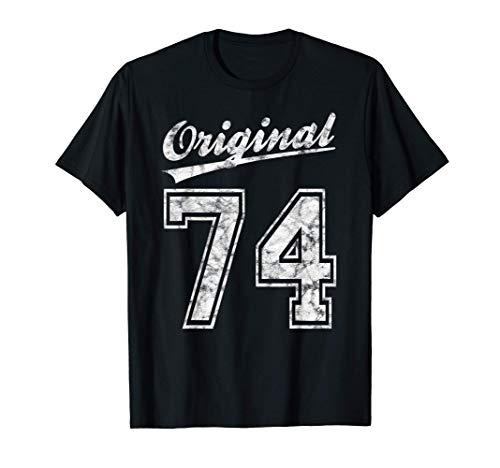 1974 Geburtstag 47 Jahre Original 74 Jahrgang 1974 Geschenk T-Shirt