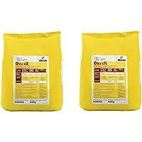 Pack 2 unidades Ovasil 600gr(1200gr en total) Clara de huevo pasteurizada en polvo para la elaboración de merengues, Macarons, suspiros, etc.