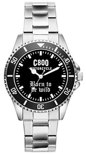 Geschenk für C800 Fans Fahrer Motorrad Biker Kiesenberg Uhr 2307
