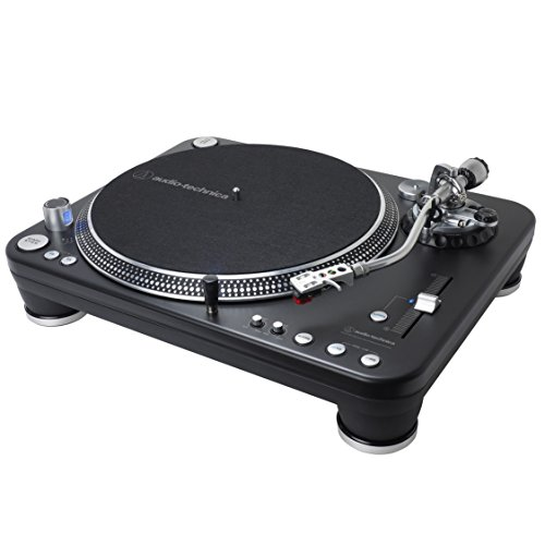 Audio-Technica ATLP1240USBXP Direct-Drive Professional DJ Turntable (USB & Analog)