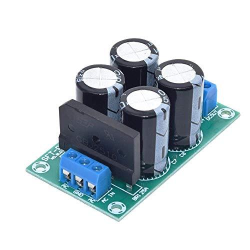 Modulo electronico Filtro PW28 Dual Power Amplificador De Potencia Junta Rectificador De Alta Corriente 25A Incondicional Puente Reglamentada Alimentación De La Placa De Alimentación De Bricolaje