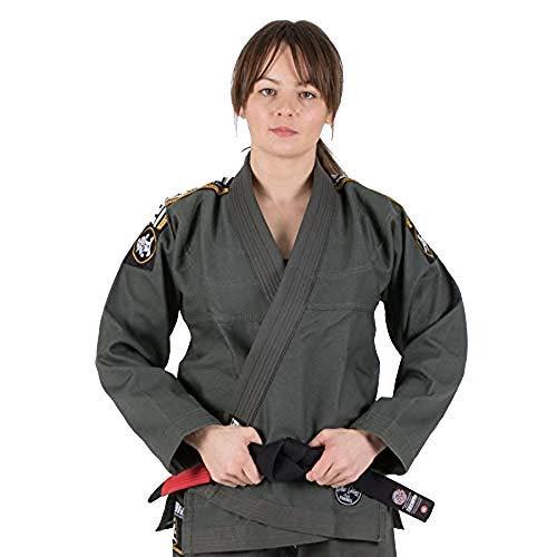 Tatami BJJ Gi Nova Absolute Khaki Jiu Jitsu - Cinturón blanco sin Kimono (F3)
