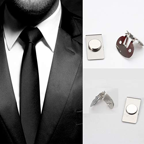 CFHYJ Invisible Magnetic Tie Stays?Men's Invisible Magnetic Automatically...