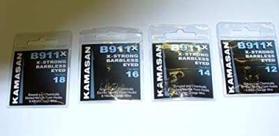 Kamasan B911X Extra Strong Barbless Eyed Fishing Hook (14)