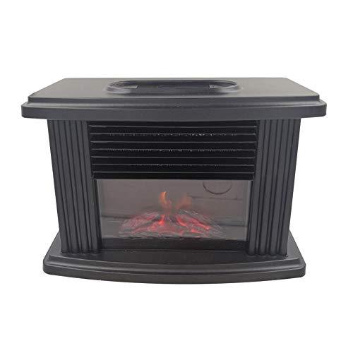 KiGoing 1000W Mini Elektro Kamin Elektrischer mit Heizung,Wandkamin elektrisch, Dekokamin mit Flammeneffekt