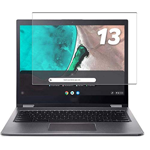 Vaxson Tempered Glass Screen Protector, compatible with Acer Chromebook Spin 13 CB715-1WT-A38P 15.6' Visible Area, 9H Film Protector [NOT Full Coverage]