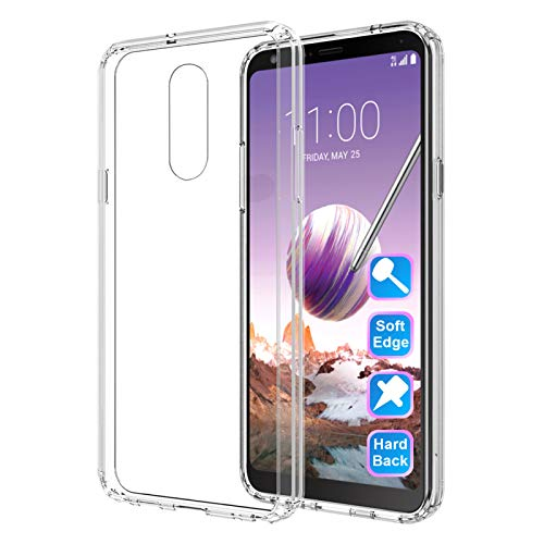 LG Stylo 5 Clear Slim Case by GSDCB