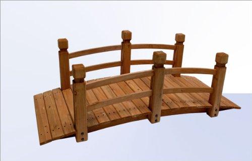 DEMA Gartenbrücke Natur 148 cm