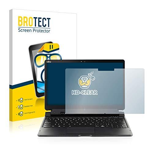 BROTECT Schutzfolie kompatibel mit Fujitsu Stylistic Q739 klare Bildschirmschutz-Folie