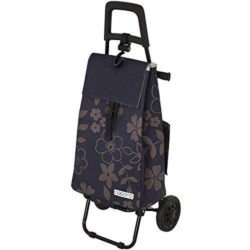 レップ(REP) ショッピングカート ネイビー 容量40L 保冷 買い物 バッグ らくらく COCORO(コ・コロ) 424438
